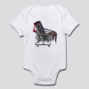 Rugs in a Shopping Cart Infant Bodysuit