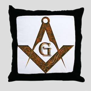 Masonic Antient F&AM Throw Pillow