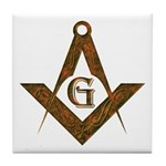 Masonic Antient F&AM Tile Coaster