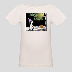 Trick or Treat Organic Baby T-Shirt