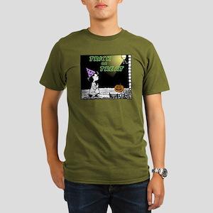 Trick or Treat Organic Men's T-Shirt (dark)