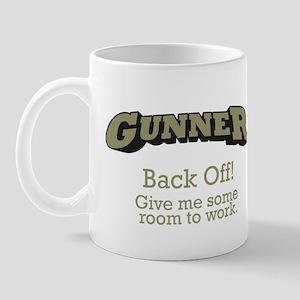 Gunner - Back Off Mug