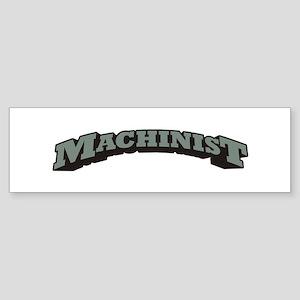 Machinist Sticker (Bumper)