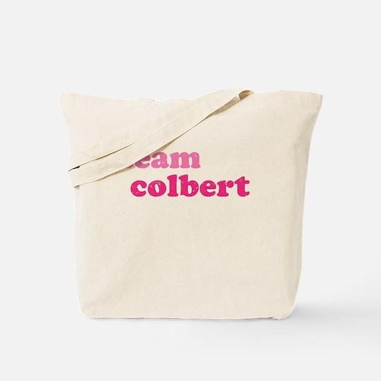 team colbert Tote Bag