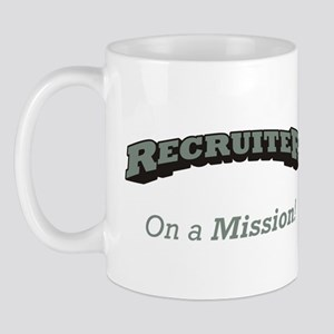 Recruiter - On a Mission Mug