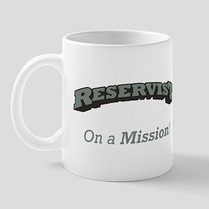 Reservist - On a Mission Mug