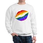 Rainbow Kiss Sweatshirt