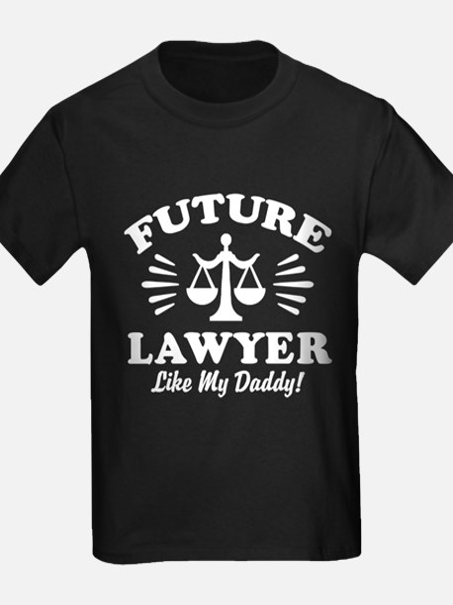 Future Lawyer Like My Daddy T