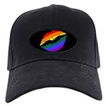 Rainbow Kiss Black Cap