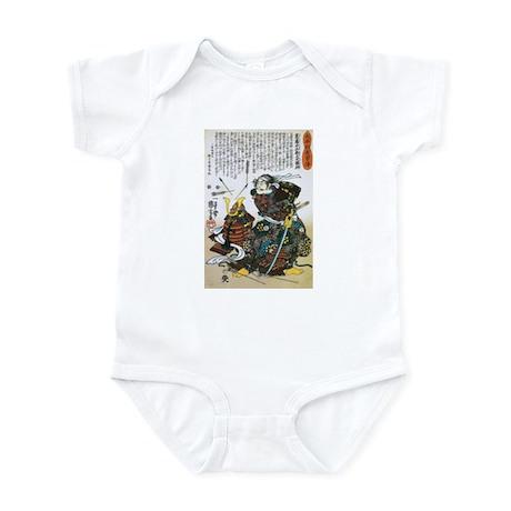 Warrior Saito Uheenotayu Tatsuoki Infant Bodysuit