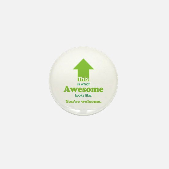 Cute Funny sarcastic Mini Button