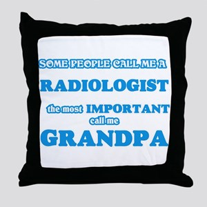 Some call me a Radiologist, the most Throw Pillow