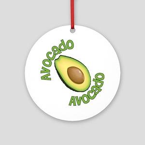 Avocado Avocado Ornament (Round)