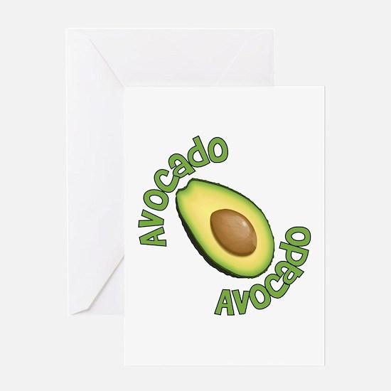 Avocado Avocado Greeting Card