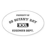Botany Bay Sticker (Oval 50 pk)