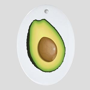 Avocado Ornament (Oval)