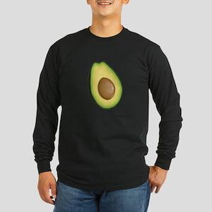 Avocado Long Sleeve Dark T-Shirt