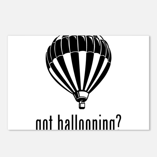 Ballooning Postcards (Package of 8)