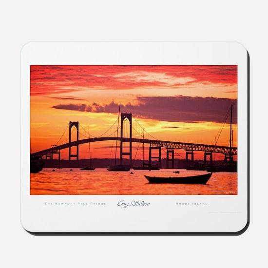 Newport Bridge Mousepad