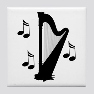 Musical Harp Tile Coaster