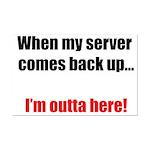 Server Down Mini Poster Print