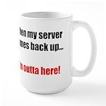 Server Down Large Mug
