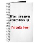 Server Down Journal