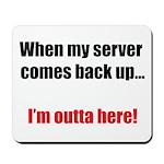 Server Down Mousepad