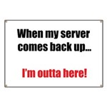 Server Down Banner