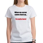Server Down Women's T-Shirt