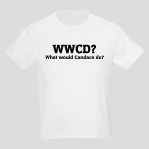 What would Candace do? Kids T-Shirt