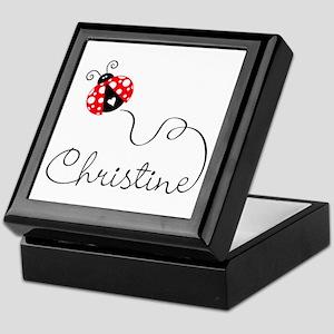 Ladybug Christine Keepsake Box