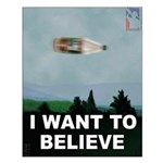 40-oz Believe - Small Poster