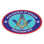 Statesville Sticker (Oval)