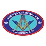Statesville Sticker (Oval 10 pk)