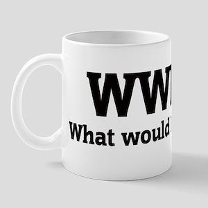 What would Brandy do? Mug