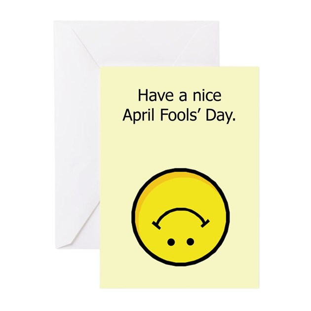 Have a nice april fools day greeting cards pk of by haveanicedesign m4hsunfo