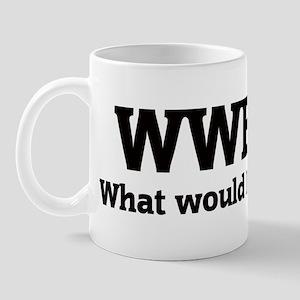 What would Becki do? Mug
