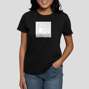 white shocker Women's Dark T-Shirt