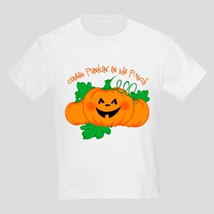 Cutest Punkin' In The Patch Kids Light T-Shirt