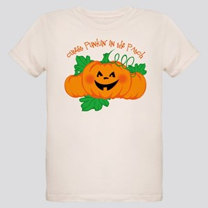 Cutest Punkin' In The Patch Organic Kids T-Shirt