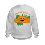 Cutest Punkin' In The Patch Kids Sweatshirt