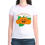 Cutest Punkin' In The Patch Jr. Ringer T-Shirt