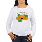 Cutest Punkin' In The Patch Women's Long Sleeve T-