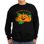Cutest Punkin' In The Patch Sweatshirt (dark)