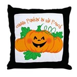 Cutest Punkin' In The Patch Throw Pillow