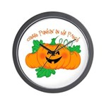 Cutest Punkin' In The Patch Wall Clock