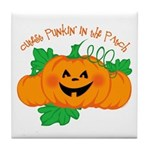 Cutest Punkin' In The Patch Tile Coaster