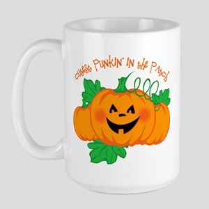 Cutest Punkin' In The Patch Large Mug