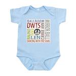 DWTS Fan Infant Bodysuit